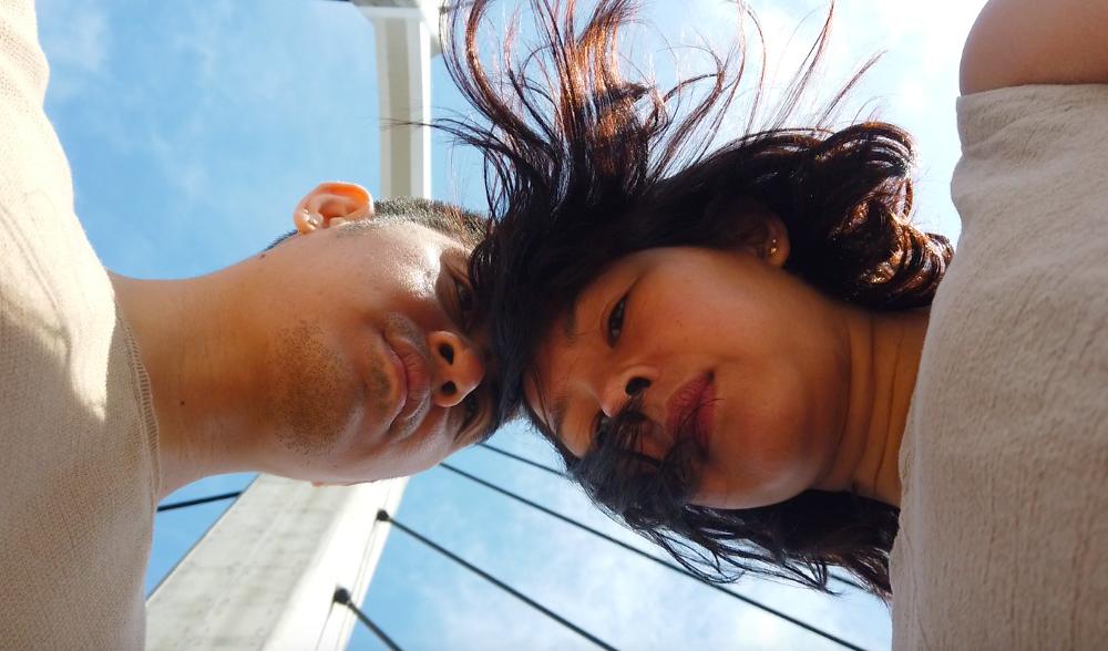Mia Cabalfin and Rhosam Prudenciado Jr.